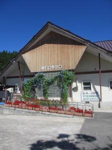 湖南公民館の特徴的な外観